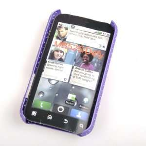 NEEWER® PURPLE MESH HOLE CASE COVER FOR MOTO MB525 Cell