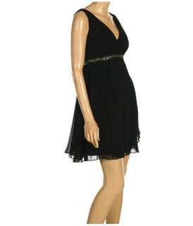 NWT LAUNDRY SHELLI SEGAL CHIFFON LITTILE BLACK DRESS 8