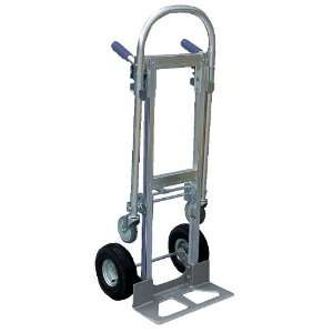 Vestil ALUM CONV Aluminum Convertible Hand Truck with Dual Handle