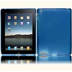 Cool Blue Flexible TPU Case for The New iPad 3rd Gen