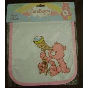 CARE BEAR BABY BURP CLOTH   (FOR GIRL) Baby