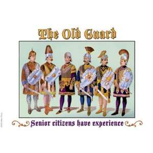 Guard   Senior Citizens Have Experience 20x30 poster