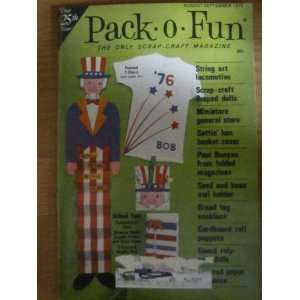 Pack o Fun Scrap Craft Magazine August September 1975