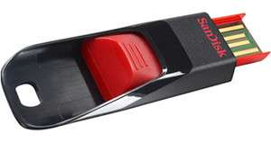 SANDISK CRUZER EDGE USB FLASH DRIVE 16GB 16G 16 G GB