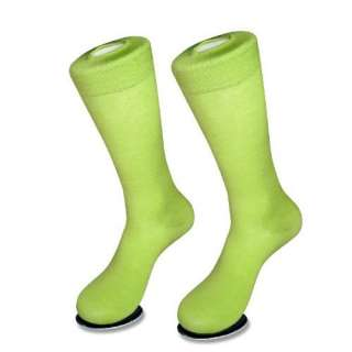 6 Pair of Antonio Ricci LIME GREEN Color Mens COTTON