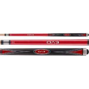 McDermott 58in Star S37 Two Piece Pool Cue Sports