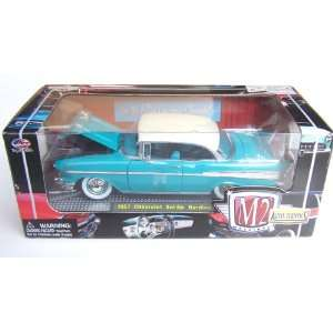 M2 Machines 1957 Chevrolet Bel Air Diecast Car Model 1/24