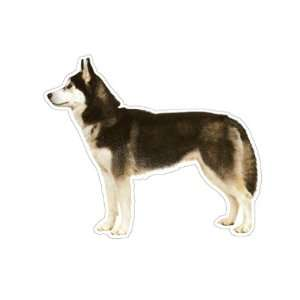 SIBERIAN HUSKY   Dog Decal   sticker dogs car got gift