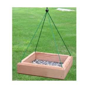 9 x 9 Hanging Tray Feeder   (Bird Feeders) (Seed Feeders