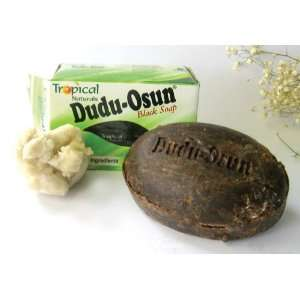 Dudu Osan Black Soap made w/ Shea Butter and Honey Pack of