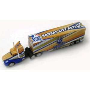 KANSAS CITY ROYALS DIECAST TRACTOR TRAILER Sports