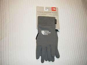 The North Face Power Stretch Glove Wick Grey NWT