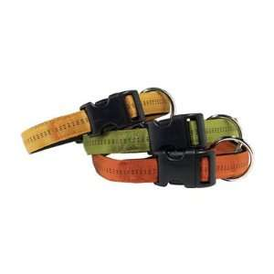 Padded Nylon Dog Collar Adjust to Fit 14   20 Neck Pet