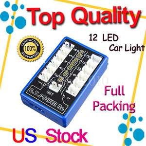 Ultra Bright 12 LED Flashing Light System RC Car EXT2 Makita