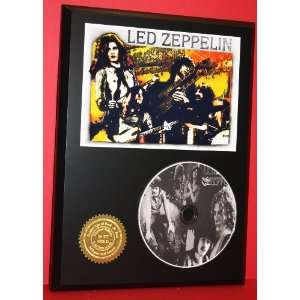 Led Zeppelin Gift Limited Edition Picture Disc CD Rare Collectible