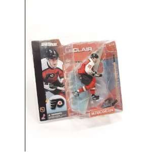 Series 1 John LeClair Philadelphia Flyers ORANGE Jersey Toys & Games