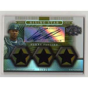 2007 Topps Triple Threads #175 Ronny Paulino Triple Jersey
