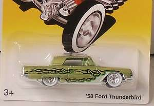 2008 Hot Wheels Fright Cars 58 Ford Thunderbird 164 Scale NIP