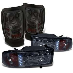 2001 Dodge Ram LED Head Lights+tail Lights Brand New Replacement Set