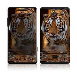 Samsung Omnia 7 Decal Skin Sticker     Fearless Tiger