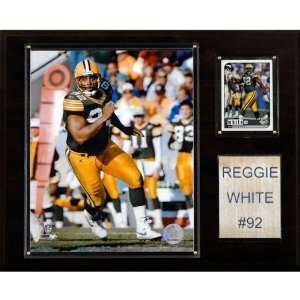 NFL Reggie White Green Bay Packers Player Plaque