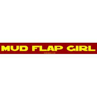 MUD FLAP GIRL MINIATURE Sticker Automotive
