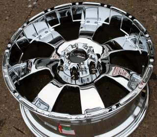 INCUBUS KRAWLER 815 20 CHROME RIMS WHEELS GMC YUKON SILVERADO