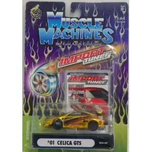 Muscle Machines 1/64 Scale Diecast Import Tuner 2001