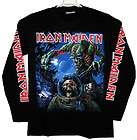 iron maiden the final frontier long sleeve t shirt n75