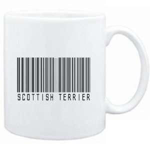 Mug White  Scottish Terrier BARCODE  Dogs Sports