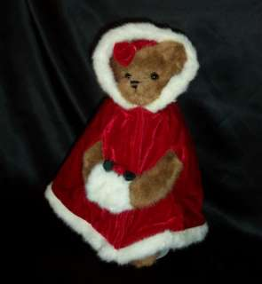 New Bearington Mama Jingles Plush Christmas Teddy Bear