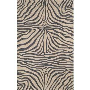 Liora Manne Ravella Rug Collection   Zebra Black