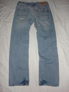 Abercrombie Mens Low Rise Kilburn Destroyed Jeans 32x34
