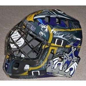 2011 LOS ANGELES KINGS Team Signed Goalie Mask w/COA