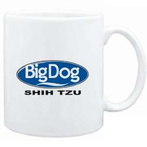Mug White  BIG DOG  Shih Tzu  Dogs