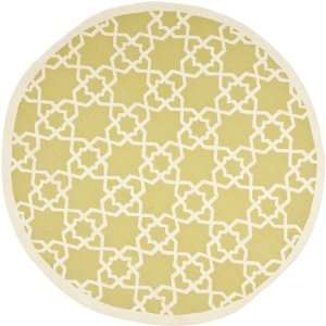 com Safavieh Dhurrie Collection DHU548A Handmade Olive and Ivory Wool