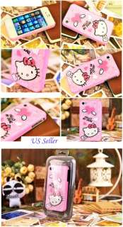 Cuted Hello Kitty Angle Heart 3D Hard Case Cover for iPhone 4 4s