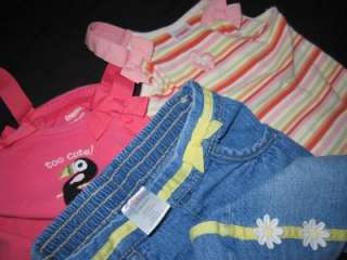 37p. GAP GYMBOREE TODDLER BABY GIRL 12 18 MONTHS SPRING SUMMER