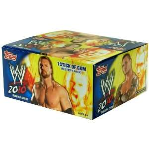 WWE 2010 Trading Cards Box Of 24 Toys & Games