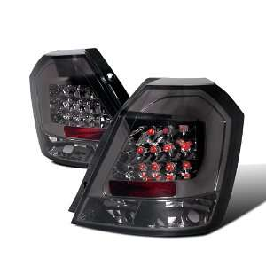 CHEVY AVEO LS LT HATCHBACK SMOKED LENS LED TAIL LIGHTS