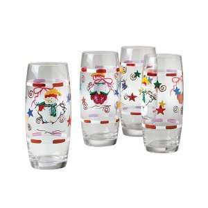 Holiday Magic Set Of Four 20 Ounce Coolers