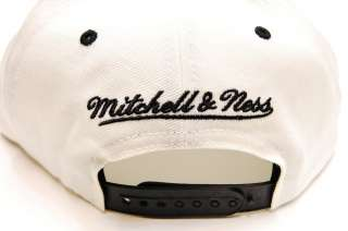 Pittsburgh Steelers Off White Script M&N Cap Snapback Mitchell and