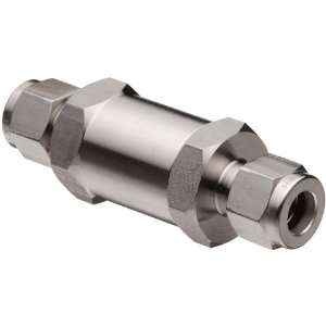 Parker 316 Stainless Steel Process Check Valve with Fluorocarbon
