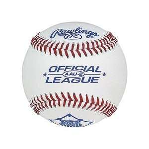 AAU 2 Official League Leather Baseballs from Rawlings