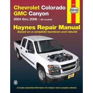 Chevrolet Colorado & GMC Canyon, 04 10 (Haynes Automotive Repair