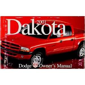 Dodge Dakota Pickup Truck Original Owners Manual 01 Dodge Books