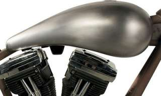 RWD SMOOTH TOP GAS TANK TEARDROP STANDARD MOUNT HARLEY