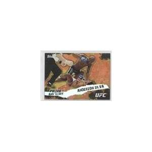 2010 Topps UFC Pride and Glory #PG14   Anderson Silva
