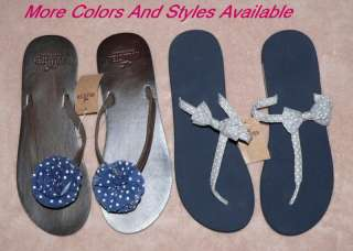 Hollister Womens Flip Flops, Thongs, Sandals, Shoes NWT