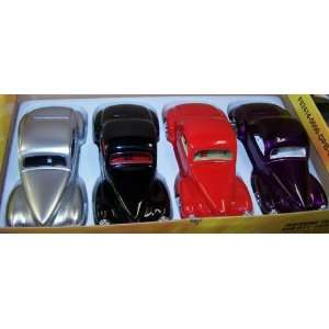 Scale Diecast Dub City 1941 Willys Coupe Box of 4 Colors Toys & Games